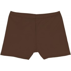 Girls Short Shorts - Brown
